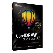 CorelDRAW Graphics Suite X6 - Small Business Edition, Rus, 3 ПК, BOX