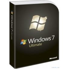 MICROSOFT Windows 7 Ultimate, 32 bit, Rus, DVD, OEM
