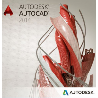 Autodesk AutoCAD 2014 Commercial New NLM, Eng/Rus, BOX